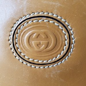 Gucci Bags - Gucci Vintage Leather Shoulder Bag.